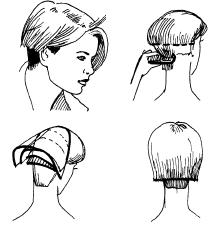 Схема шапочки стрижка