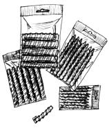 Бигуди спиральные для химической завивки